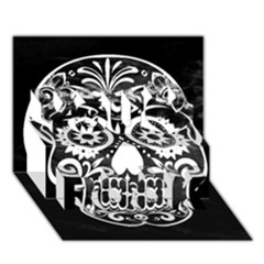 Skull You Rock 3d Greeting Card (7x5)  by ImpressiveMoments