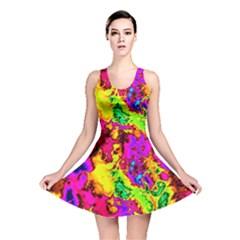 Powerfractal 01 Reversible Skater Dresses by ImpressiveMoments