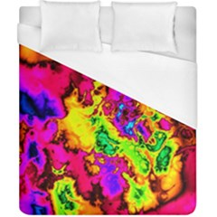 Powerfractal 01 Duvet Cover Single Side (double Size) by ImpressiveMoments