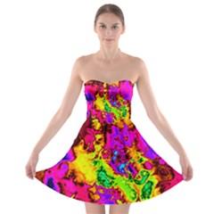 Powerfractal 01 Strapless Bra Top Dress by ImpressiveMoments