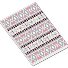 Fancy Tribal Border Pattern Soft Large Memo Pads by ImpressiveMoments