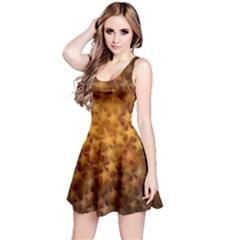 Gold Stars Reversible Sleeveless Dresses by KirstenStar