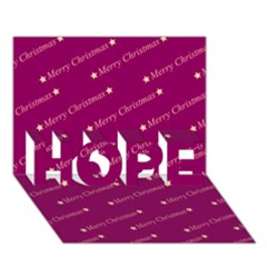 Merry Christmas,text,bordeaux Hope 3d Greeting Card (7x5)