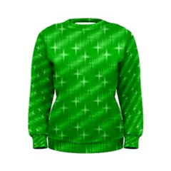 Many Stars, Neon Green Women s Sweatshirts by ImpressiveMoments