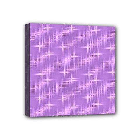 Many Stars, Lilac Mini Canvas 4  X 4  by ImpressiveMoments