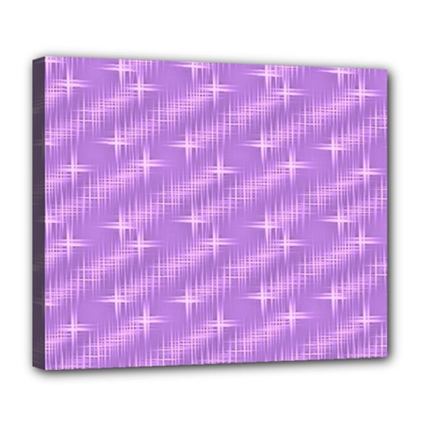 Many Stars, Lilac Deluxe Canvas 24  x 20   by ImpressiveMoments