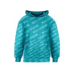 Many Stars,aqua Kid s Pullover Hoodies by ImpressiveMoments
