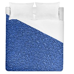 Sparkling Glitter Blue Duvet Cover Single Side (full/queen Size) by ImpressiveMoments