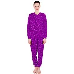 Sparkling Glitter Hot Pink Onepiece Jumpsuit (ladies)