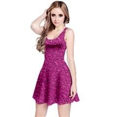 Sparkling Glitter Pink Reversible Sleeveless Dresses by ImpressiveMoments