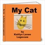 Kaitlyn s cat book - 8x8 Photo Book (20 pages)
