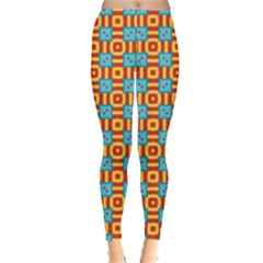 Cute Pretty Elegant Pattern Women s Leggings by creativemom