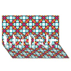 Pattern 1284 Believe 3d Greeting Card (8x4)  by creativemom