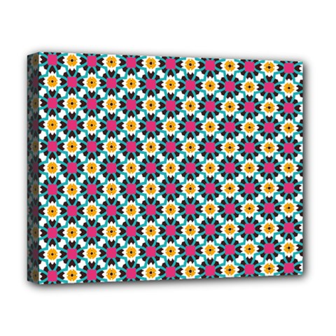 Cute Abstract Pattern Background Deluxe Canvas 20  X 16   by creativemom