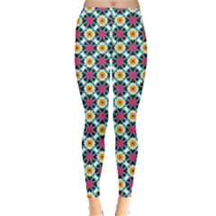 Cute abstract Pattern background Women s Leggings by creativemom