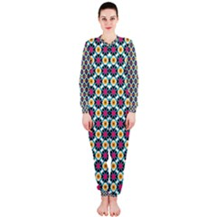 Cute Abstract Pattern Background Onepiece Jumpsuit (ladies)  by creativemom