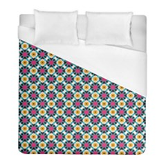 Cute Abstract Pattern Background Duvet Cover Single Side (twin Size) by creativemom