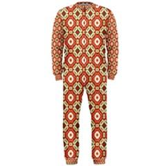 Cute Pretty Elegant Pattern Onepiece Jumpsuit (men)  by creativemom