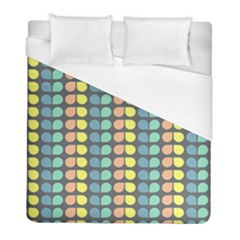 Colorful Leaf Pattern Duvet Cover Single Side (twin Size) by creativemom
