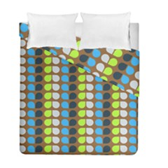 Colorful Leaf Pattern Duvet Cover (twin Size) by creativemom