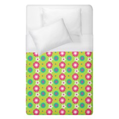Cute Floral Pattern Duvet Cover Single Side (single Size)