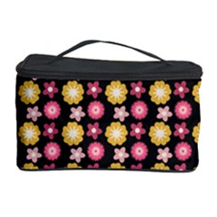 Cute Floral Pattern Cosmetic Storage Cases by creativemom