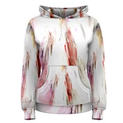 Abstract Angel in White Women s Pullover Hoodies