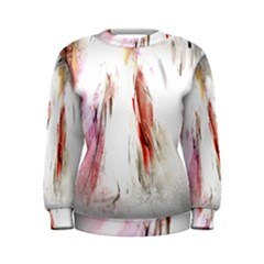 Abstract Angel In White Women s Sweatshirts by theunrulyartist