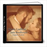 Boothroyd - 8x8 Photo Book (20 pages)