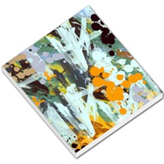 Abstract Country Garden Small Memo Pads by theunrulyartist