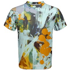 Abstract Country Garden Men s Cotton Tees by theunrulyartist