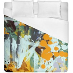 Abstract Country Garden Duvet Cover Single Side (kingsize)