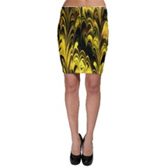 Fractal Marbled 15 Bodycon Skirts by ImpressiveMoments