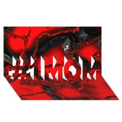 Abstract Art 11 #1 Mom 3d Greeting Cards (8x4)