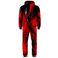Abstract Art 11 Hooded Jumpsuit (men)