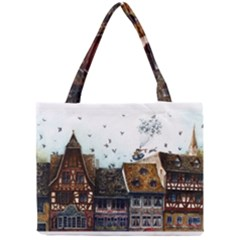 Rooftop Tiny Tote Bags