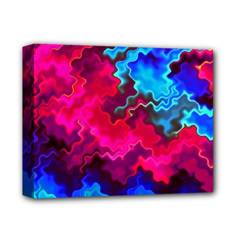 Psychedelic Storm Deluxe Canvas 14  X 11  by KirstenStar