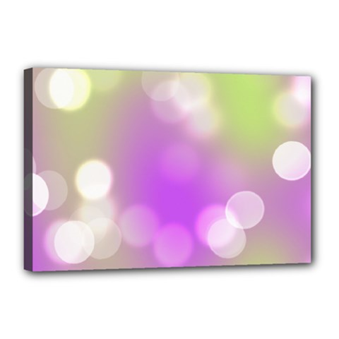 Modern Bokeh 7 Canvas 18  X 12  by ImpressiveMoments