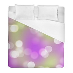 Modern Bokeh 7 Duvet Cover Single Side (twin Size) by ImpressiveMoments
