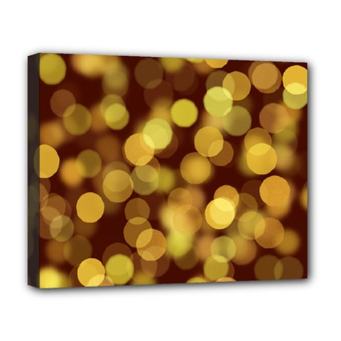 Modern Bokeh 9 Deluxe Canvas 20  X 16   by ImpressiveMoments