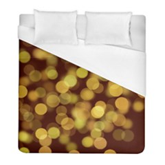 Modern Bokeh 9 Duvet Cover Single Side (twin Size) by ImpressiveMoments