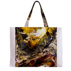 Surreal Zipper Tiny Tote Bags by timelessartoncanvas