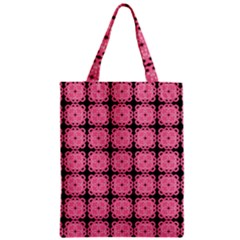 Cute Pretty Elegant Pattern Zipper Classic Tote Bags by creativemom