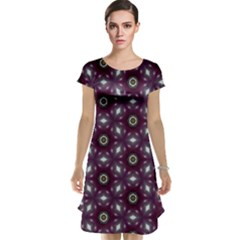 Cute Pretty Elegant Pattern Cap Sleeve Nightdresses by creativemom