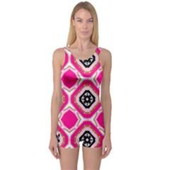 Cute Pretty Elegant Pattern Women s Boyleg One Piece Swimsuits