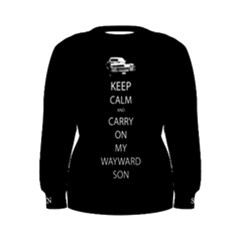 Carry On Centered Women s Sweatshirts by TheFandomWard