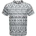 black pattern - Men s Cotton Tee