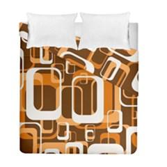 Retro Pattern 1971 Orange Duvet Cover (twin Size) by ImpressiveMoments