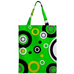 Florescent Green Yellow Abstract  Classic Tote Bags