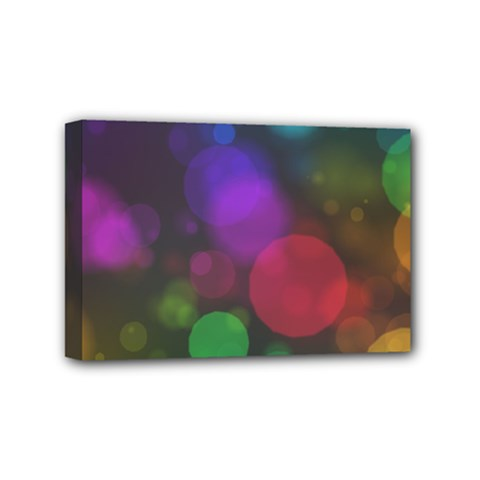 Modern Bokeh 15 Mini Canvas 6  X 4  by ImpressiveMoments